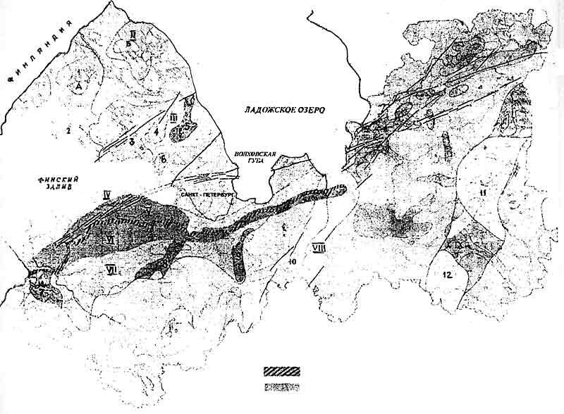 Карта радоноопасности